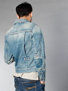 Nudie Jeans Jacket #obsessed denim beard tumblr