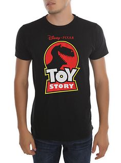 Disney Toy Story Rex Logo Slim-Fit T-Shirt | Hot Topic