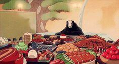 Devour these delicious Studio Ghibli GIFs in celebration of Hayao Miyazaki's birthday Totoro, Hayao Miyazaki, Manga Anime, Anime Art, Cidades Do Interior, Studio Ghibli Spirited Away, Japon Illustration, Cute Asian Fashion, Film D'animation