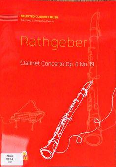 Rathgeber: Clarinet Concerto Op. 6, No. 19. Versión para clarinete de Santiago Comesaña