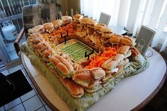 Party tray ideas for football game get togethers