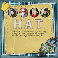 Created with Mr Fix It kit by Dana's Footprint Designs, CU Wooley Stitches brushes by Kim Broedlet