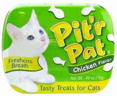 Pit'r Pat - Chicken (0.43oz) - Dental Cat Treats - $4.58
