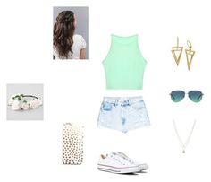 """""""Untitled #25"""" by missyt123 on Polyvore featuring MANGO, Converse, Full Tilt, Tiffany & Co. and LC Lauren Conrad"""