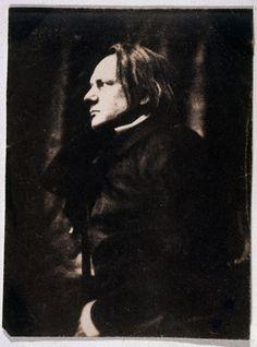 Victor Hugo, auteur français, 1854 //par Auguste Vacquerie