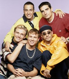 how can one NOT like 90s boy bands? cmon.