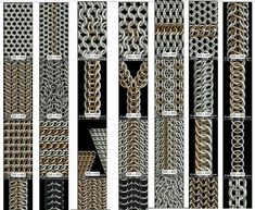 CGMaille has fabulous chainmail tutorials...and this is an awesome compilation of them!