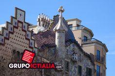 Casa Batlló, Barcelona. Grup Actialia ofrece sus servicios en Barcelona: Diseño web, Diseño gráfico, Imprenta y Rotulación. www.grupoactialia.com