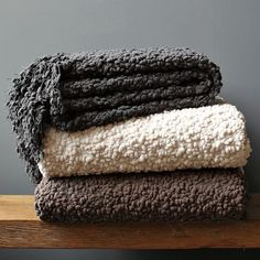 Cozy Throw from West Elm. Would be interesting for newborn photo backdrop. I think I've seen it in photos before.