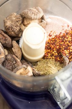 Magic Mushroom Powder | www.thehealthyfoodie.com Anytime you use salt and pepper.