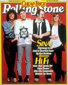 Blast from the past magazine cover...my favorite band since 1978!