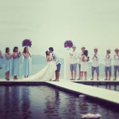 """I DO"" #luxury #wedding #love #wretreatkohsamui"