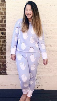 Emily's Juno Pyjamas - Sewing Pattern by Tilly and the Buttons Tilly And The Buttons, Pyjamas, Make It Simple, Needlework, Sewing Patterns, How To Make, Pants, Dresses, Fashion