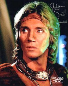 Judson Scott as Joachim from the original series film, Star Trek II: The Wrath of Khan, 1982.