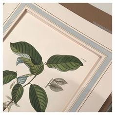 One of the prettiest framing details is a French mat #sarahbartholomewdesign #installsoon