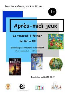 Escapages: Après-midi jeux à la Bibliothèque communale de Rixensart