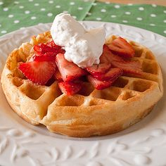 Waffles of Insane Greatness from Key Ingredient