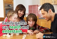 FamilyShare.com l Family games can teach and entertain.
