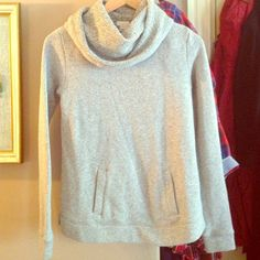 J. Crew sweater Adorable sweater pullover! Keeps the neck warm! Mint condition! Great with leggings or jeans! J. Crew Sweaters