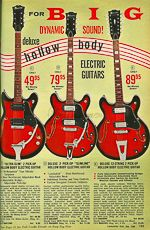 VintAxe.com Vintage Guitars - Vintage Japanese Catalogs - Lafayette-Kawai - 1970