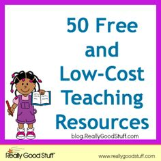 50 Free and Low-Cost Teaching Resources
