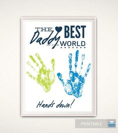 Items similar to Grandpa Gifts - Christmas Grandpa Gift from Grandkids, PRINTABLE Handprint Art, Gift for Grandpa, DIY Handprint Art, Grandad Birthday Gift on Etsy Aunt Gifts, Daddy Gifts, Grandpa Gifts, Gifts For Dad, Kids Gifts, Diy Birthday Presents For Mom, Presents For Aunts, Father Presents, Diy Presents