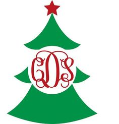 Christmas tree vinyl decal--could be a good monogram pattern for a tee shirt, too Silhouette Vinyl, Silhouette Machine, Silhouette Cameo Projects, Christmas Vinyl, Christmas Shirts, Christmas Crafts, Christmas Tree, Vinyl Crafts, Vinyl Projects