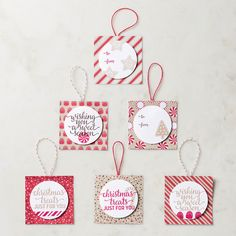 Stampin' Up! Candy Cane Christmas Clear-Mount Stamp Set