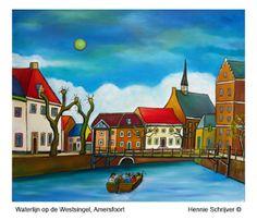 Westsingel door Hennie Schrijver