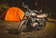 Planning a really good motorcycle camping trip? If so, you'll need to get yourself a good tent. A solo tent is perfect for a solo ride. Here are the motorcycle tents you should buy and what you should look for in a good motorcycle tent. Motorcycle Tent, Cool Tents, Thing 1, Big Three, Travel Alone, Tent Camping, Biker, Road Trip, Motorcycles