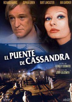 DVD CINE 2065 - El puente de Cassandra (1976). Reino Unido. Dir.: George Pan Cosmatos. Sinopse: uns mil pasaxeiros quedan atrapados nun tren infectado por un virus mortal. Fuxindo da policía, o terrorista que transporta o virus embarcouse no tren, expondo a todos a esta terrible praga.