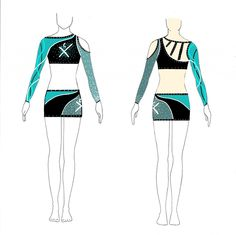 All-Star Cheerleading Uniform Designs | LeahofthePack I recognize any state in a crowd