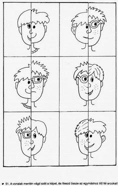 Óvodás Gyerekek: Testrészek (kiscsoport) Preschool Writing, Kindergarten Worksheets, Worksheets For Kids, Math Games, Learning Activities, Preschool Activities, Cutting Activities, Maternelle Grande Section, Activity Sheets