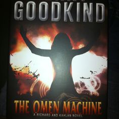 "Terry Goodkind ""The Omen Machine"""