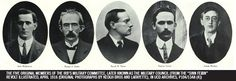 The five original members of the IRB's Military Committee – UCD Decade of Centenaries