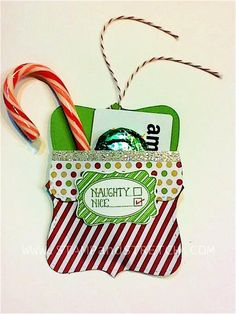 Top Note Treat Holder by Pammyjo - Cards and Paper Crafts at Splitcoaststampers