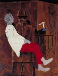 Max Ernst, 'Pietà or Revolution by Night' 1923