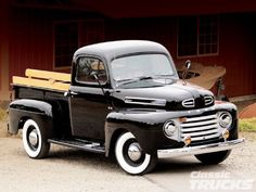 Classic ford pickup truck