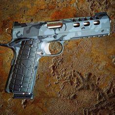 Save by Hermie Custom 1911, Tactical Accessories, Gun Art, Military Guns, Hunting Rifles, Cool Guns, Guns And Ammo, Firearms, Hand Guns