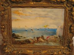 Original Oil on Board Framed Painting by Stefano Sideris - water, boats, figures in Art, Contemporary Paintings, Other Contemporary Paintings | eBay