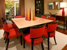 7 red dining room ideas red room