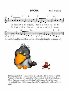 Kids Songs, Sheet Music, Preschool, Snoopy, Education, Fictional Characters, Notes, Cards, Autism