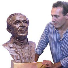 Image Billy Connolly, Bronze Sculpture, Master Class, Leo, Teacher, Portrait, Gallery, Image, Professor