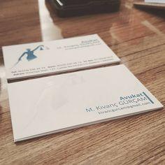 Avukat mustafa kıvanç gürçam kartvizit tasarımı