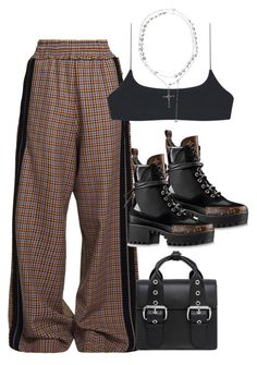 """Untitled #3921"" by rhe7971 ❤ liked on Polyvore featuring Golden Goose, Louis Vuitton and Vivienne Westwood"