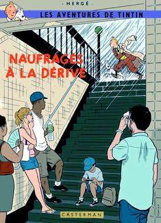 Les Aventures de Tintin - Album Imaginaire - Naufragés à la Dérive
