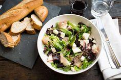Salade met ham, meloen en brie - Koken met Aanbiedingen
