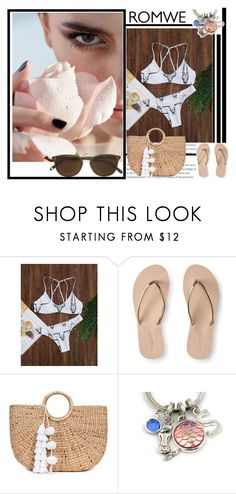 """romwe"" by mindak ❤ liked on Polyvore featuring Aéropostale, JADE TRIBE and Garrett Leight"