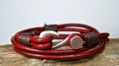 FREE SHIPPING  Men bracelet leather men bracelet by FosforStore, $28.00