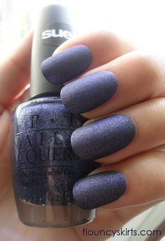 OPI Ink Suede  - @Leslie Payton.. I do believe this is the color you were asking me about!